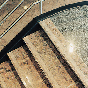 natuursteen trap