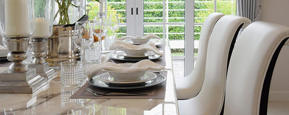 Marmertoepassingen voor een modern interieur
